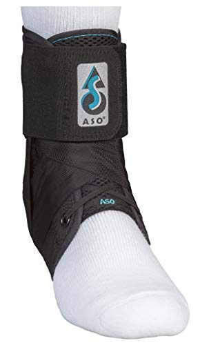 Med Spec ASO Ankle Stabilizer, Black, Small
