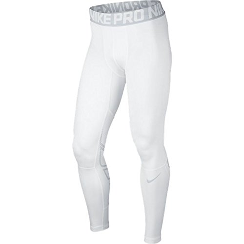 Nike Men's Pro Hyperwarm Compression Training Tight White/Pure Platinum/Pure Platinum Pants XL X 26