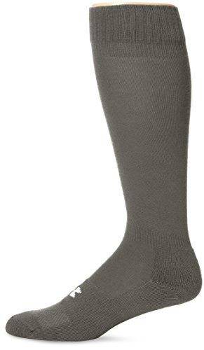 Under Armour Adult HeatGear Boot Sock, 1-Pair , Foliage Green , Shoe Size: Mens 4-8, Womens 6-9