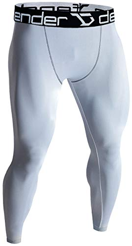 Defender Men's Sports Compression Pants Under Jerseys Tights Shorts Fits Basketball WH_M