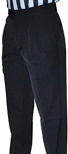 Smitty Women's Basketball Premium 4-Way Stretch Pleated Front Officials Pants - Slash Pockets (12)