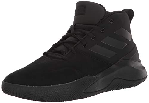 adidas Men's OwnTheGame Basketball Shoe, Black/Black/Black, 6.5 Medium US