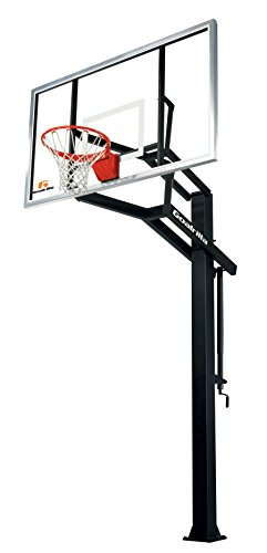 Goalrilla GS I In-Ground Basketball System with 72' x 42' Tempered Glass Backboard
