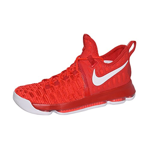 NIKE Zoom KD 9 Men's Basketball Shoes (11, University Red/White)