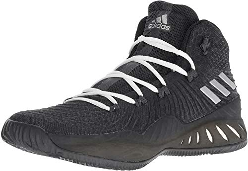 adidas Crazy Explosive Black/SIL/Gr Basketball Shoes 8