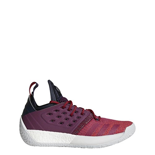 adidas Men's Harden Vol 2 Basketball Shoe Red/White Size 12.5 M US