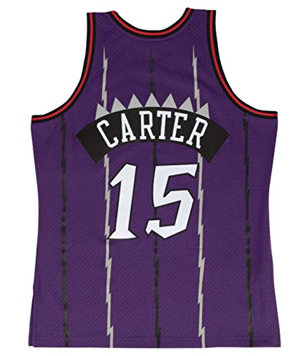 Mitchell & Ness Toronto Raptors Vince Carter 1998 Road Swingman Jersey (X-Large)