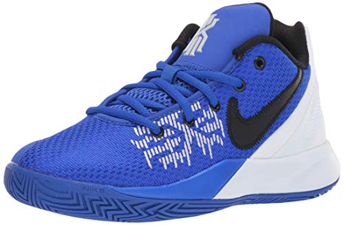 Nike Boy's Kyrie Flytrap II Basketball Shoe Racer Blue/Black/White Size 7 M US