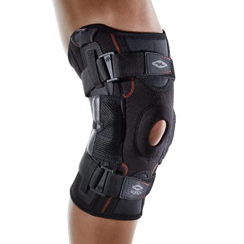 Shock Doctor Ultra Knee Support with Bilateral Hinges - Black - L