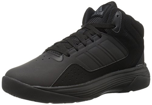 adidas NEO Men's Cloudfoam Ilation Mid Basketball Shoe, Black/Black/Onix, 7 M US