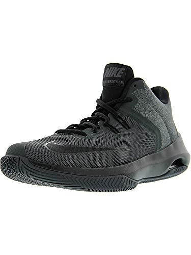 Nike Mens Air Versitile Ii NBK Anthracite/Black Ankle-High Basketball Shoe - 9.5M