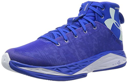 Under Armour Men's UA Fireshot Team Royal/Metallic Silver 12 D US