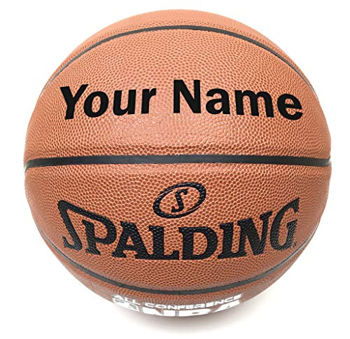 Customized Personalized Spalding All Conference Indoor Outdoor Basketball