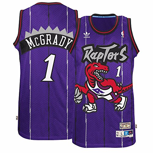 adidas Tracy McGrady Toronto Raptors Purple Throwback Swingman Jersey XXL