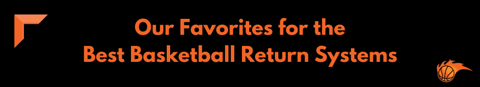 Our Favorites for the Best Basketball Return Systems