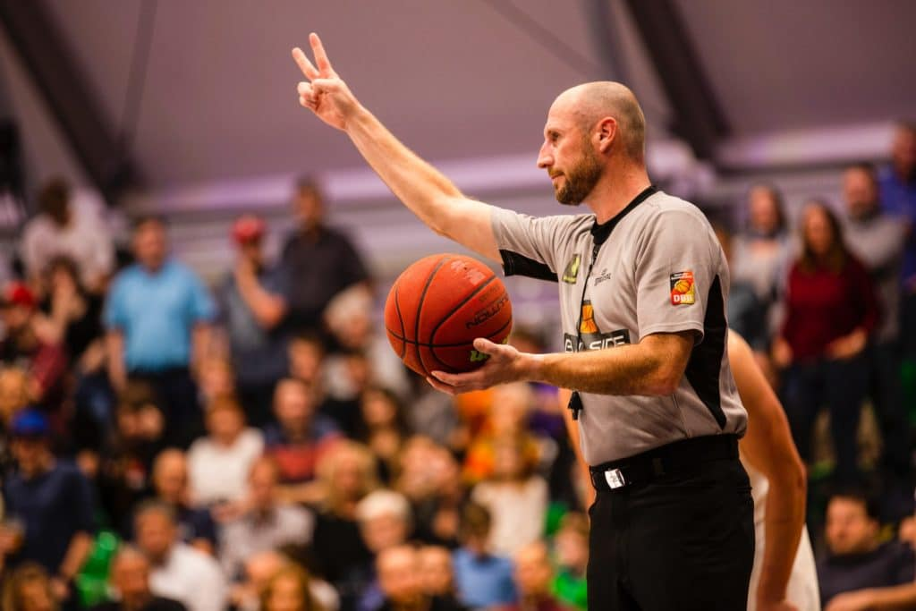 Basketball rules also include the duties of the officials.