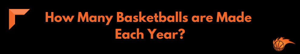 How Many Basketballs are Made Each Year_